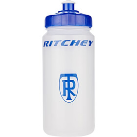 Ritchey Water Bottle 500ml, transparent/blue